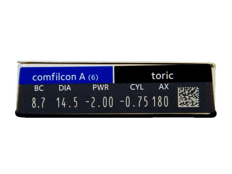 Biofinity Toric (6lentile) - Parametrii lentilei