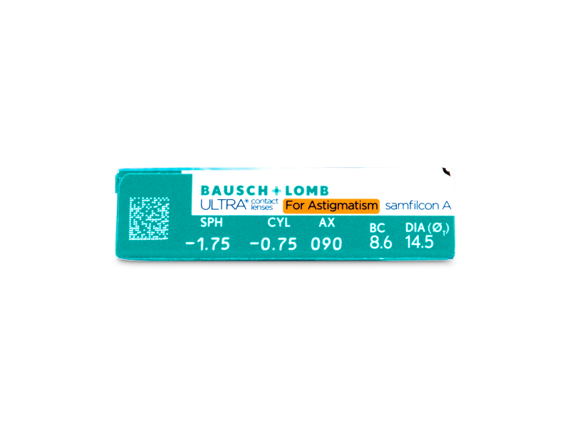 Bausch + Lomb ULTRA for Astigmatism (6 lentile) - Parametrii lentilei