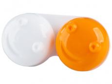 Suport lentile de contact - Suport pentru lentile 3D  - portocaliu