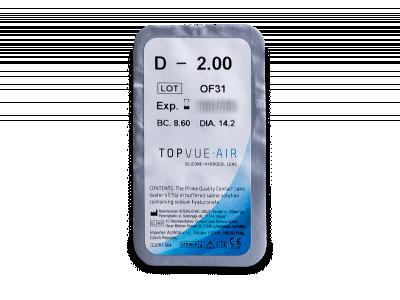TopVue Air (6 lentile) - Vizualizare ambalaj