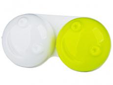 Suport lentile de contact - Suport pentru lentile 3D- galben