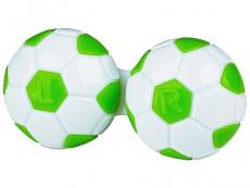 Suport lentile de contact - Suport pentru lentile Football - verde