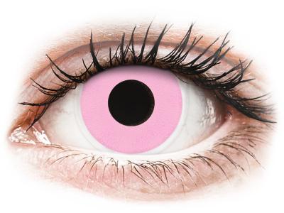 ColourVUE Crazy Lens - Barbie Pink - plano (2lenses) - Lentile de contact colorate