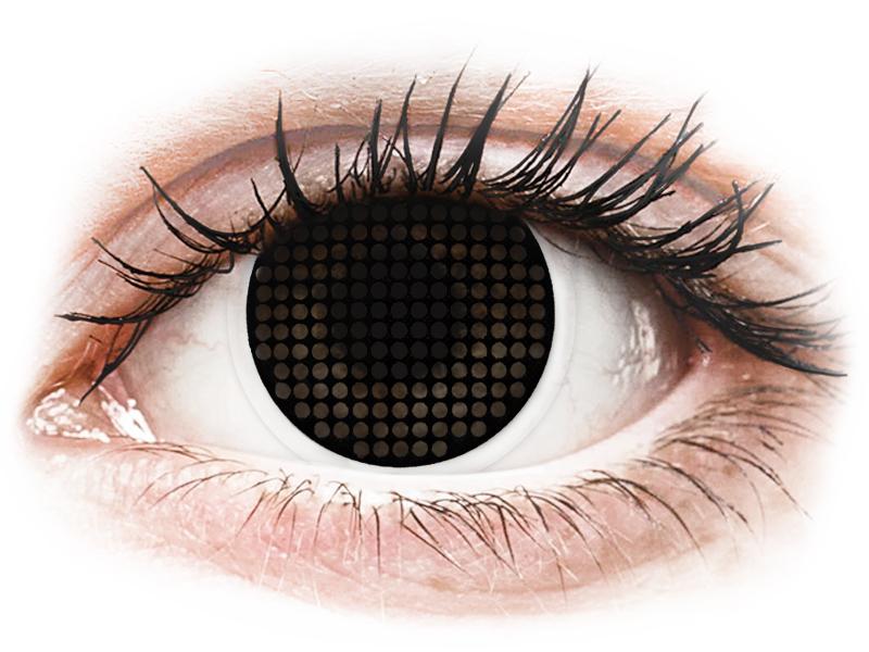 ColourVUE Crazy Lens - Black Screen - plano (2lenses)