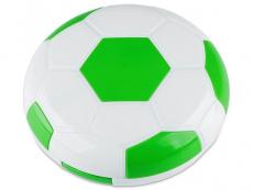 Suport lentile de contact - Casetă oglindă Football - verde
