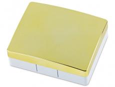 Travel kit lentile de contact - Casetă Elegant  - aurie