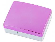 Lentile de contact - Casetă Elegant  - roz