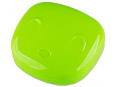 Suporți pentru lentile de contact - Casetă Face - verde