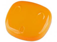 Suporți pentru lentile de contact - Casetă Face - portocalie