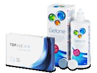 TopVue Air (6 lentile) + soluțieGelone 360 ml