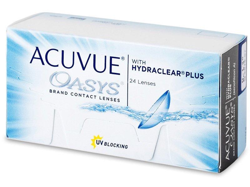 Acuvue Oasys (24 lentile) - Lentile de contact bi-săptămânale