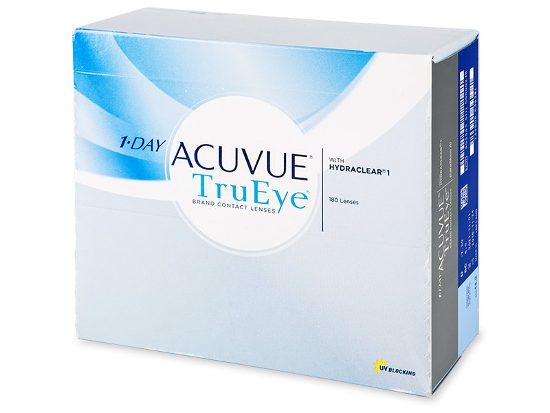 1 Day Acuvue TruEye (180 lentile) - Lentile de contact de unică folosință - Johnson and Johnson