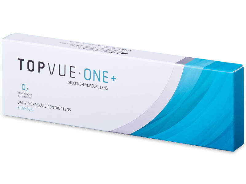 TopVue One+ (5 lentile) - Lentile de contact de unică folosință