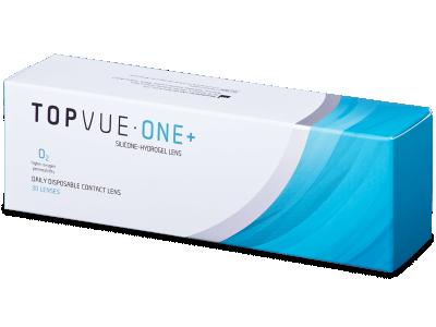 TopVue One+ (30 lentile) - Lentile de contact de unică folosință