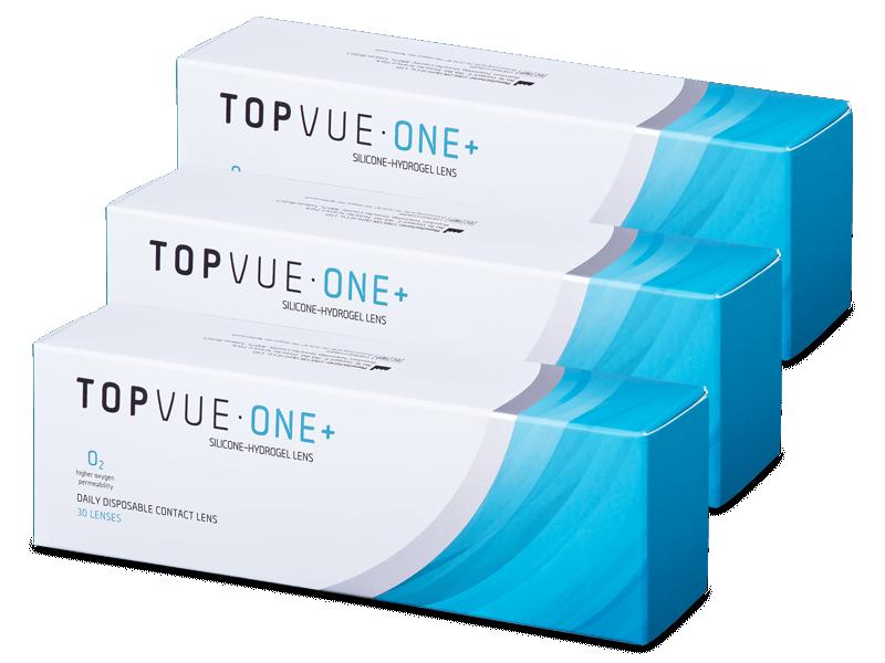 TopVue One+ (90 lentile) - Lentile de contact de unică folosință