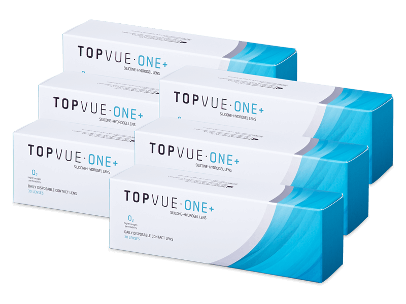 TopVue One+ (180 lenses) - Lentile de contact de unică folosință