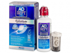 Soluții lentile de contact - Soluție AO SEPT PLUS HydraGlyde 90 ml