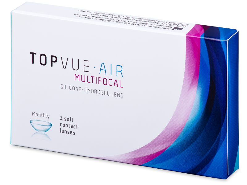 TopVue Air Multifocal (3 lentile) - Lentile de contact multifocale