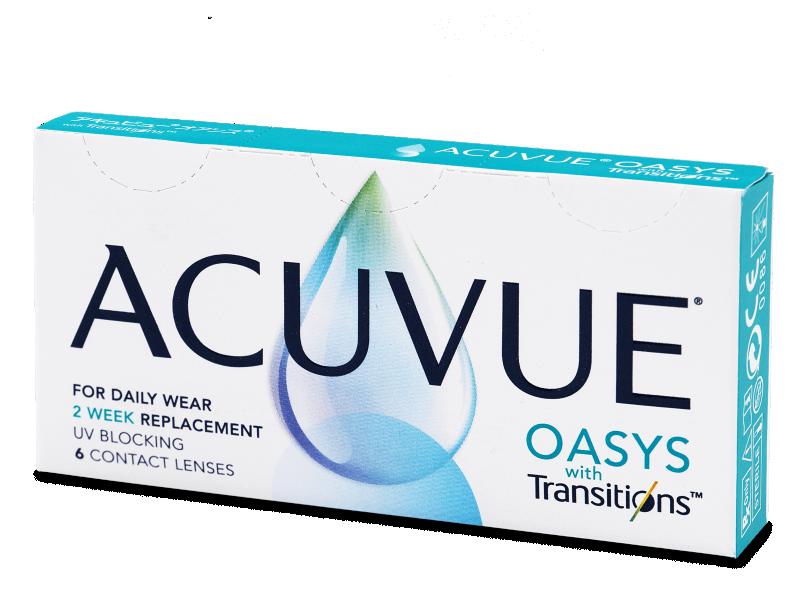 Acuvue Oasys with Transitions (6 lentile) - Lentile de contact bi-săptămânale