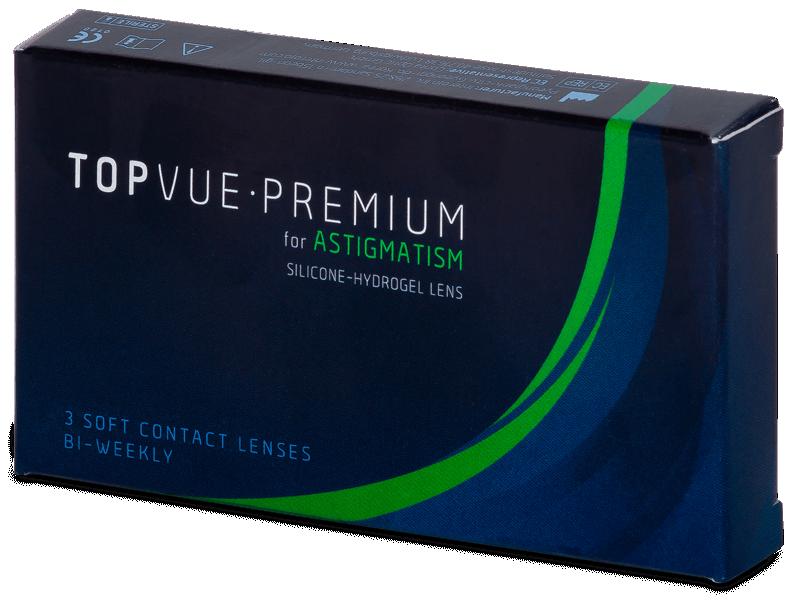TopVue Premium for Astigmatism (3lentile) - Lentile de contact torice