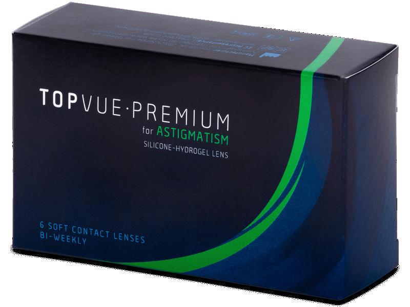 TopVue Premium for Astigmatism (6lentile) - Lentile de contact torice