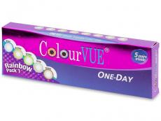 Alți producători - ColourVue One Day TruBlends Rainbow - fara dioptrie (10 lentile)