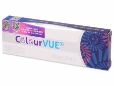 Lentile de contact colorate - ColourVue One Day TruBlends - cu dioptrie (10 lentile)