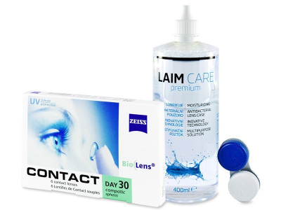 Carl Zeiss Contact Day 30 Compatic (6 lentile) + soluție Laim-Care 400 ml