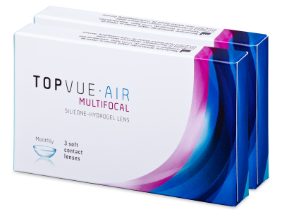 TopVue Air Multifocal (6 lentile)