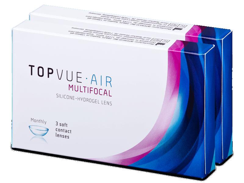 TopVue Air Multifocal (6 lentile) - Lentile de contact multifocale