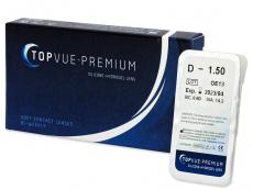 Lentile de contact de 2 săptămâni - TopVue Premium (1 lentilă)