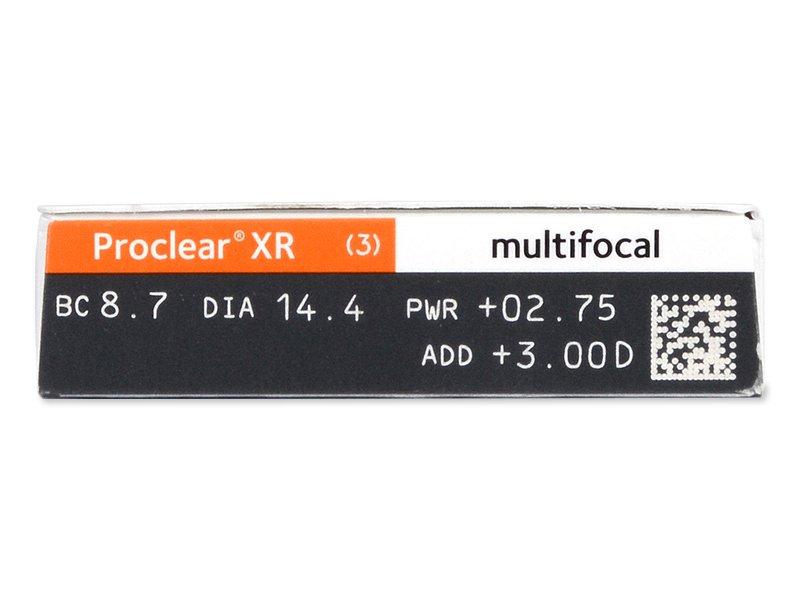 Proclear Multifocal XR (6 lentile) - Parametrii lentilei
