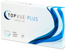Lentile de contact - TopVue Monthly Plus (6 lentile)