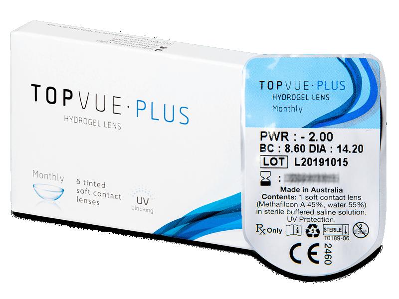 TopVue Monthly Plus (1lentilă) - Lentile de contact lunare