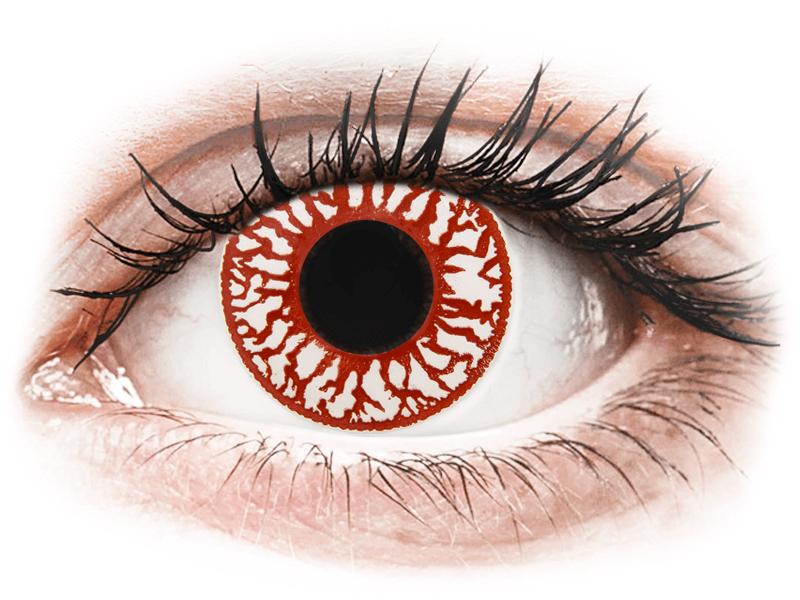 ColourVUE Crazy Lens - Blood Shot - daily plano (2lenses) - Lentile de contact colorate