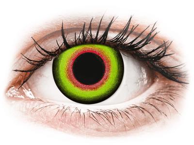 ColourVUE Crazy Lens - Mad Hatter - daily plano (2lenses) - Lentile de contact colorate
