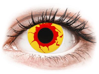 ColourVUE Crazy Lens - Reignfire - daily plano (2lenses) - Lentile de contact colorate