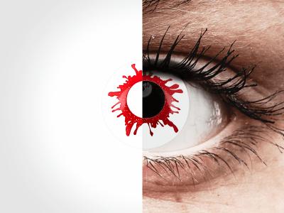 ColourVUE Crazy Lens - Wild Blood - daily plano (2lenses)