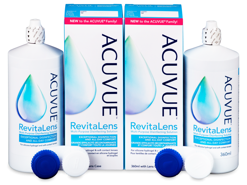Acuvue RevitaLens Solution 2x 360 ml  - Economy duo pack- solution
