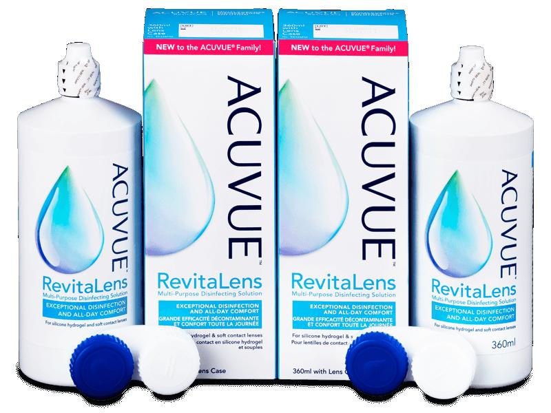 Acuvue RevitaLens Solution 2x 360 ml  - Pachete speciale cu 2 soluții
