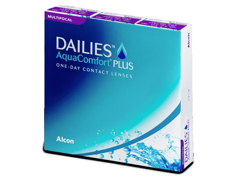 Dailies AquaComfort Plus Multifocal (90lentile) - Lentile de contact multifocale