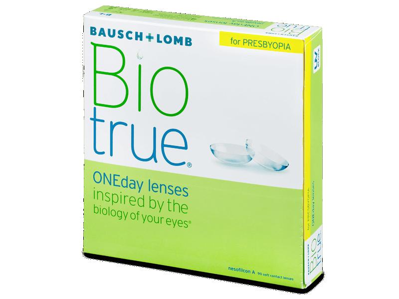 Biotrue ONEday for Presbyopia (90 lentile) - Lentile de contact de unică folosință
