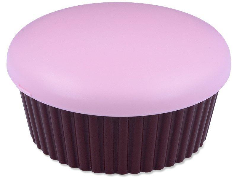Casetă cu oglindă Brioșă - Roz