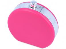 Suport lentile de contact - Casetă Gentuță roz