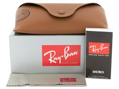 Ochelari de soare Ray-Ban Original Wayfarer RB2140 - 954  - Preview pack (illustration photo)