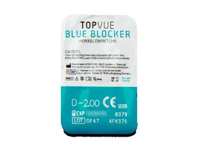 TopVue Blue Blocker (90 lentile) - Vizualizare ambalaj