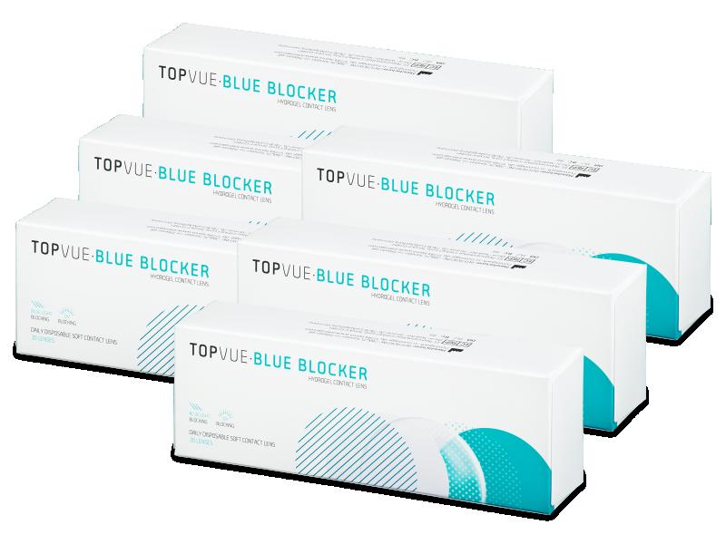TopVue Blue Blocker (180 lentile) - Lentile de contact de unică folosință