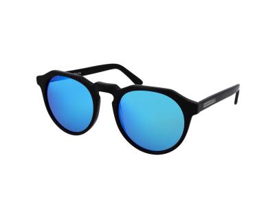 Ochelari de soare Hawkers Diamond Black Clear Blue Warwick X
