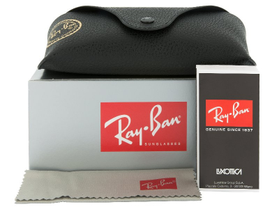 Ochelari de soare Ray-Ban Justin RB4165 - 622/T3 POLARIZATI  - Preview pack (illustration photo)