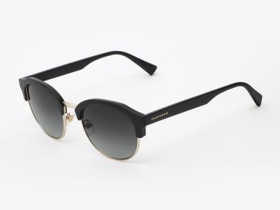 Ochelari de soare Hawkers Rubber Black Gradient Classic Rounded